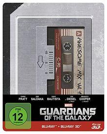 Guardians of the Galaxy 3D + 2D (Steelbook) [3D Blu-ray]