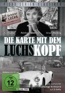 Pidax Serien-Klassiker: Die Karte mit dem Luchskopf - Die komplette 13-teilige Krimiserie (2 DVDs)