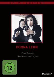 Donna Leon - Feine Freunde / Das Gesetz der Lagune (Krimi-Edition)