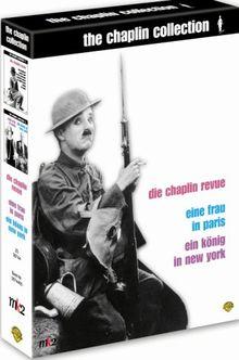 The Chaplin Collection 3 (Die Chaplin Revue / Eine Frau in Paris / Ein König in New York) (Box Set) [4 DVDs]
