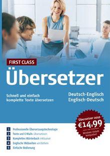 First Class Übersetzer Englisch 2010