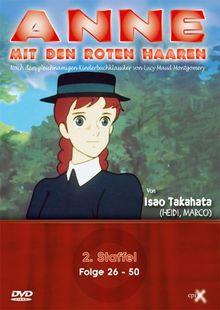Anne mit den roten Haaren - 2. Staffel, Folge 26-50 [4 DVDs]