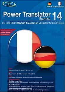 Power Translator 14 Express - Deutsch-Französisch