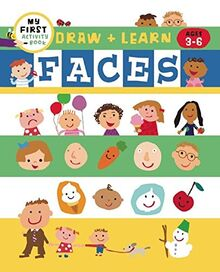 Draw + Learn: Faces (My First Activity Books)