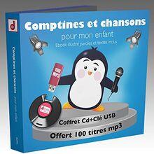 Comptines et chansons pour mon enfant- 100 Titres (1 CD+1 CLE USB)
