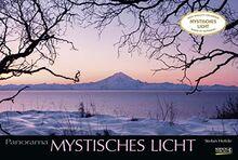 Mystisches Licht 2021: Großer Foto-Wandkalender mit Bildern von Lichtspielen der Natur. Edler schwarzer Hintergrund. PhotoArt Panorama Querformat: 58x39 cm.