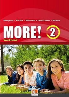 MORE! 2 Workbook mit E-Book+: SbNr 190456 (Helbling Languages)