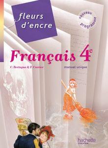 Français 4e : Livre de l'élève grand format