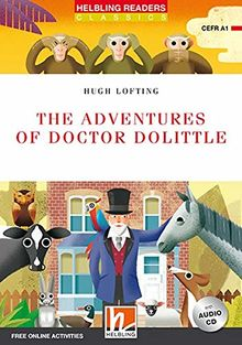The Adventures of Doctor Dolittle, mit 1 Audio-CD: Helbling Readers Red Series / Level 1 (A1) (Helbling Readers Classics)