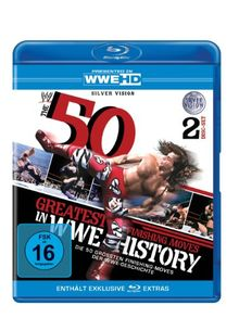 WWE - 50 Greatest Finishing Moves In WWE History [Blu-ray]