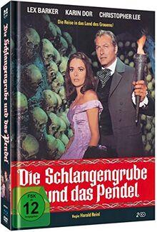 Die Schlangengrube und das Pendel - Limited Mediabook-Edition (+DVD/36-seitiges Booklet/in HD neu abgetastet) [Blu-ray]