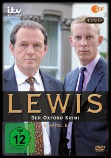 Lewis - Der Oxford Krimi, Staffel 6 [4 DVDs]