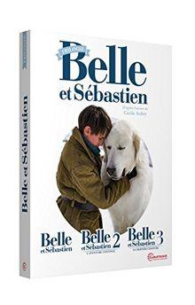 Coffret belle et sébastien 3 films : belle et sébastien ; l'aventure continue ; le dernier chapitre [FR Import]