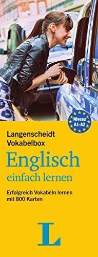 Langenscheidt Vokabelbox Englisch einfach lernen - Box mit 800 Karteikarten: Erfolgreich Vokabeln lernen mit 800 Karten (Langenscheidt Vokabelbox einfach lernen)