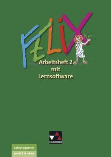 Felix - neu / Arbeitsheft 2 mit Lernsoftware: Unterrichtswerk für Latein / Zu den Lektionen 35-73