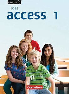 English G Access - G9 - Ausgabe 2019: Band 1: 5. Schuljahr - Schülerbuch: Kartoniert