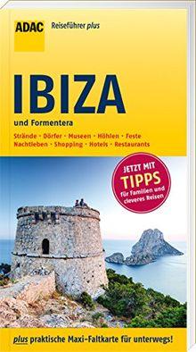 ADAC Reiseführer plus Ibiza und Formentera: mit Maxi-Faltkarte zum Herausnehmen