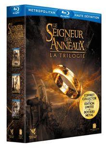 Trilogie seigneurs des anneaux : la communauté de l'anneau ; les deux tours ; le retour du roi [Blu-ray] [FR Import]