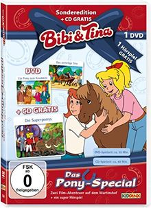 Bibi und Tina - Pony-Special (+ Hörspiel-CD) [2 DVDs]