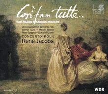 Mozart - Così fan tutte / Concerto Köln · Jacobs