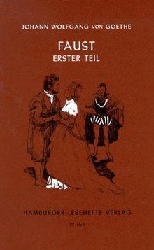 Hamburger Lesehefte, Nr.29, Faust I: Der Tragödie 1. Teil