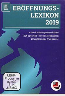 Chessbase Eröffnungslexikon 2019