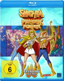 She-Ra - Princesss of Power (Episode 47-93) [Blu-ray]