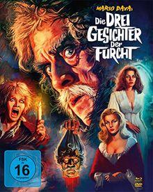 Die drei Gesichter der Furcht - Mario Bava-Collection - Mediabook/Limited Collector's Edition (+ DVD) (+ Bonus-DVD) [Blu-ray]