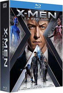 Coffret X-men prélogie : le commencement ; days of future past ; apocalypse [Blu-ray]