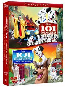 Coffret : les 101 dalmatiens ; 101 dalmatiens 2 sur la trace des heros