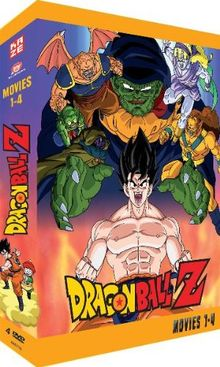 Dragonball Z - Movies 1-4 [4 DVDs]