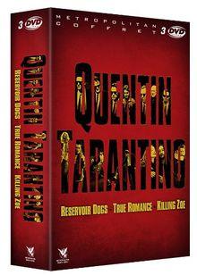 Coffret quentin tarantino : reservoir dogs ; true romance ; killing zoe [FR Import]