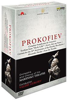Orchestra & Chorus of the Marinksy Theatre; Valery Gergiev - Prokoviev;Complete Symphonies & Concertos [7 DVDs]