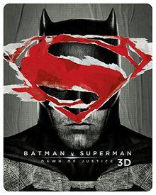 Batman v Superman: Dawn of Justice Steelbook - Ultimate Edition (exklusiv bei Amazon.de) [3D Blu-ray] [Limited Edition]
