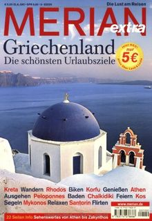 MERIAN Griechenland extra (MERIAN Hefte)