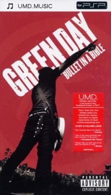 Green Day - Bullet In A Bible [UMD Universal Media Disc]
