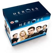 [UK-Import]Heroes Season 1-4 Complete Blu-Ray Box Set