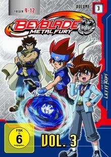 Beyblade Metal Fury - Volume 3 (Folgen 9-12)