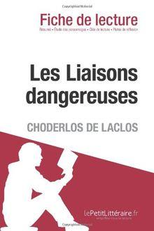 Les Liaisons dangereuses de Pierre Choderlos de Laclos (Fiche de lecture)