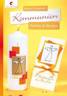 Kommunion: Karten & Kerzen