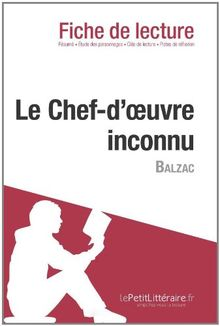 Le Chef-d'œuvre inconnu de Balzac (Fiche de lecture)