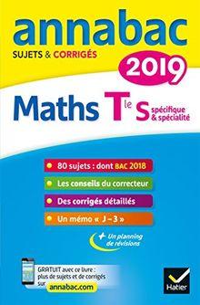 Annabac Maths Tle S spécifique & spécialité : Sujets et corrigés