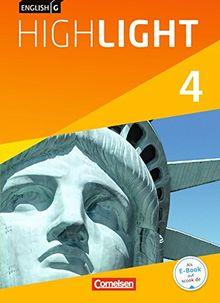 English G Highlight - Hauptschule: Band 4: 8. Schuljahr - Schülerbuch: Festeinband