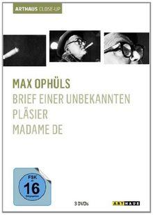 Max Ophüls - Arthaus Close-Up [3 DVDs]