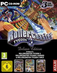 Roller Coaster Tycoon 3 - Deluxe Edition [Software Pyramide]