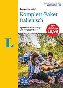 Langenscheidt Komplett-Paket Italienisch - Sprachkurs mit 2 Büchern, 6 Audio-CDs, 1 DVD-ROM, MP3-Download: Sprachkurs für Einsteiger und Fortgeschrittene (Langenscheidt Komplett-Paket ((NEU)))