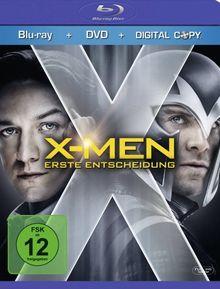 X-Men - Erste Entscheidung (+ DVD + Digital Copy) [Blu-ray]