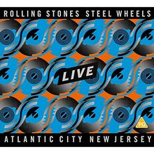 The Rolling Stones - Steel Wheels Live (Atlantic City 1989) (1 DVD + 2 CD) [3 Disks]