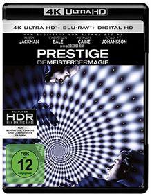 Prestige - Meister der Magie (4K Ultra HD + 2D-Blu-ray) (2-Disc Version) [Blu-ray]