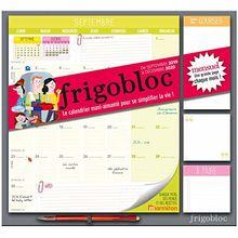 Frigobloc mensuel : Le calendrier maxi-aimanté pour se simplifier la vie ! Avec un criterium